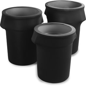 EMB5026WC44633 - Embrace™ Waste Container Cover 44 Gal - Dark Lava