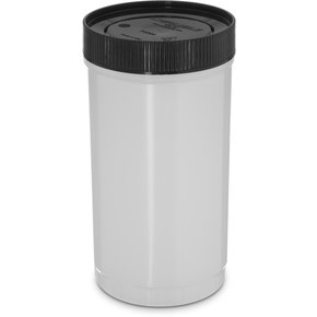 PS602N01 - Stor N' Pour® Quart Backup Container w/ Assorted Color Caps 1 Quart - Brown