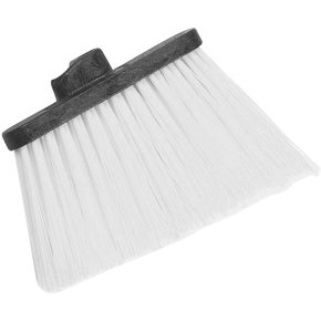 "3686803 - Duo-Sweep® Heavy Duty Angle Broom w/12"" Flare (Head Only) 8"" - Black"