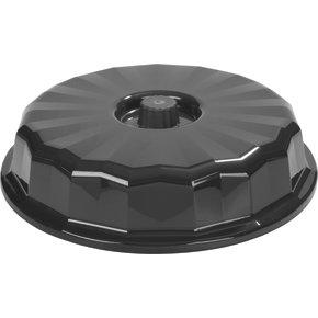 "DX9400B03 - Tropez Entree Dome, High-Temp 9-1/2""D (12/cs) - Onyx"