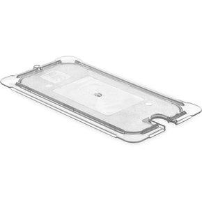 10470U03 - StorPlus™ Univ Lid - Food Pan HH Flat 1/3 Size 1/3 Size - Black