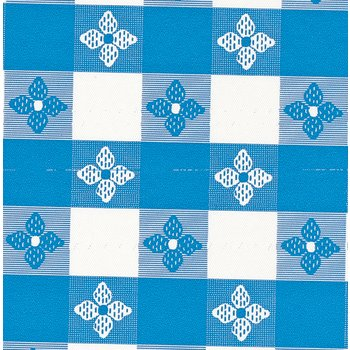 51511554L002 - Classic™ Series Tablecloth  Check 15 YD Roll - Blue