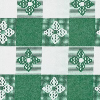 51511554L064 - Classic™ Series Tablecloth  Check 15 YD Roll - Forest Green