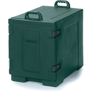 PC300N08 - Cateraide™ Insulated Front Side Loading Food Pan Carrier 5 Pan Capacity - Forest Green