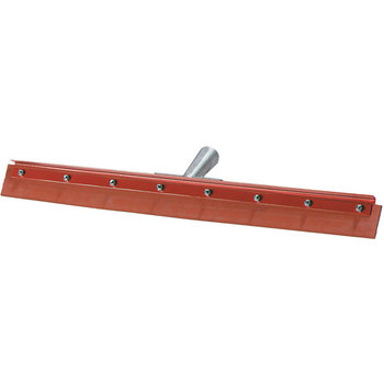 4007500 - Flo-Pac® Straight Red Gum Rubber Floor Squeegee With Heavy Duty Steel Frame 18""