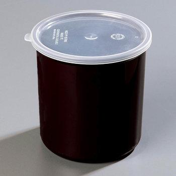 034103 - Poly-Tuf™ Crock w/Lid 1.2 qt - Black