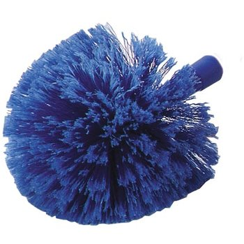 36340414 - Flo-Pac® Round Duster With Soft Flagged PVC Bristles  - Blue