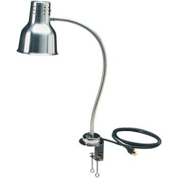 "HL8185C00 - FlexiGlow™ Single Arm Heat Lamp, Includes Clamp 24"" - Aluminum"