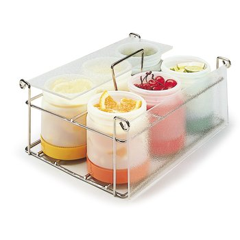 "PS101CS00 - Stor N' Pour® Complete Condiment System 12"", 9"", 4-3/4"""