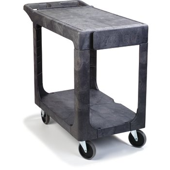 "UC194023 - Flat Shelf Utility Cart 5"" Caster 40"" x 19"" - Gray"