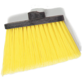 "3686704 - Duo-Sweep® Medium Duty Angle Broom w/12"" Flare (Head Only) 12"" - Yellow"