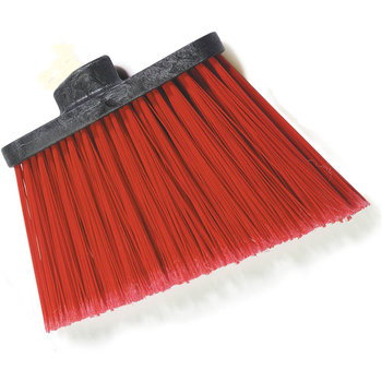 "3686705 - Duo-Sweep® Medium Duty Angle Broom w/12"" Flare (Head Only) 12"" - Red"