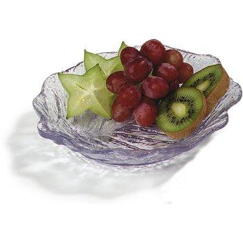 "034507 - Leaf Plate 6"" - Clear"