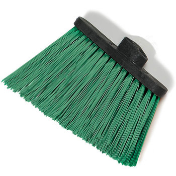 "3686809 - Duo-Sweep® Heavy Duty Angle Broom w/12"" Flare (Head Only) 8"" - Green"
