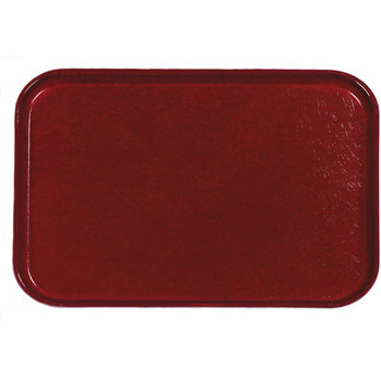 "2216FGQ97030 - Glasteel™ Tray 12.1"" x 16"" - Cherry Red"