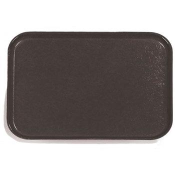 "1612FG004 - Glasteel™ Solid Rectangular Tray 16.4"" x 12"" - Black"