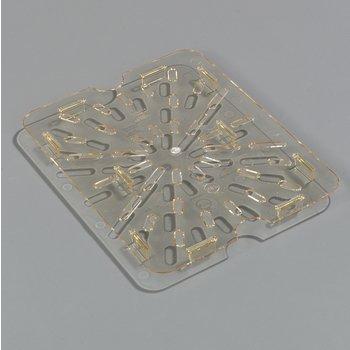 1043513 - StorPlus™ Drain Grate - Food Pan HH 1/2 Size - Amber