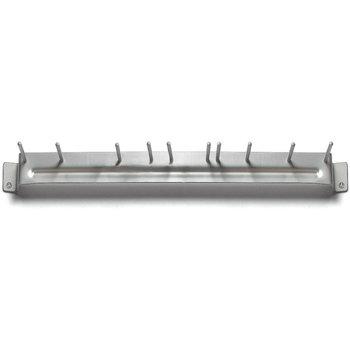 """4073500 - Spectrum® Aluminum Brush Rack 17"""" Long - Aluminum"""