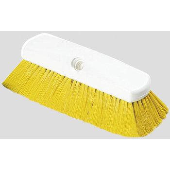 """4127804 - Sparta® Spectrum® Flo-Thru Wall & Equipment Brush 10"""" - Yellow"""