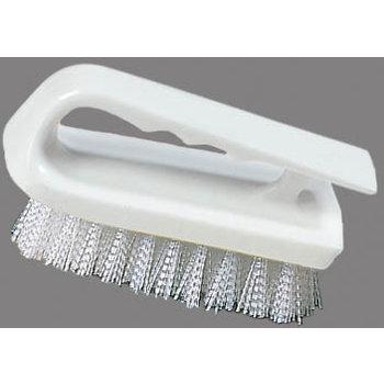 """4002402 - Hand Scrub Brush 6"""" - White"""