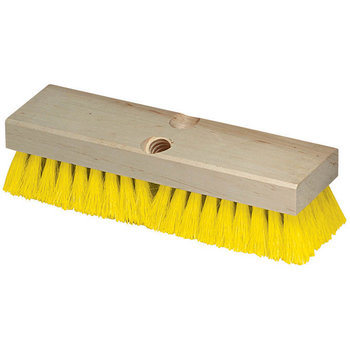 "36193MX04 - Flo-Pac® Polypropylene Deck Scrub 10"" - Yellow"