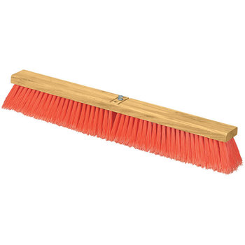 "3610223624 - Flo-Pac® uno Style Polypropylene Sweep w/Heavy Polypropylene Center 36"" - Orange"