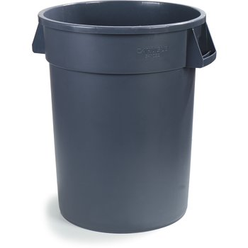 34103223 - Bronco™ Round Waste Container 32 Gallon - Gray