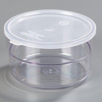 036507 - Supreme™ Crock w/Lid 1.5 qt - Clear