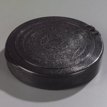 """071003 - Hinged Tortilla Server 7"""" / 1"""" - Black"""