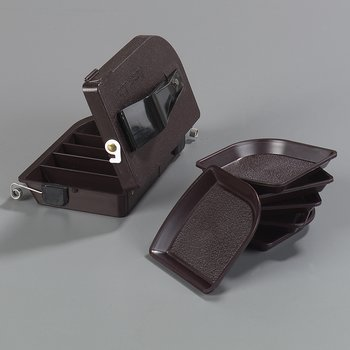 """103001 - Money Maid™ Rectangular Combo Pack w/Six Coin Trays 6-7/8"""", 4-1/32"""", 2-1/4"""" - Brown"""