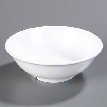 4373802 - Melamine Footed Serving Bowl 36 oz - White