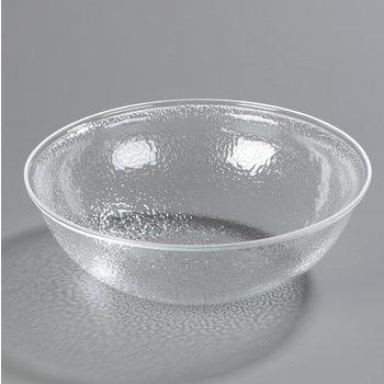 SB7407 - Pebbled Bowl Round 7 qt - Clear