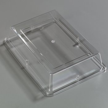 "44414C07 - Designer Displayware™ Cover for 14"" x 10"" WR Rectangle Platter - Clear"
