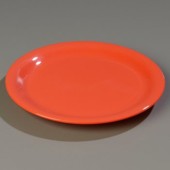 3300652 - Sierrus Salad Plate - Narrow Rim 7-1/4&quot; - Sunset Orange