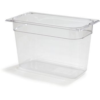 "1026907 - TopNotch® Food Pan PC 8"" DP 1/3 Size - Clear"