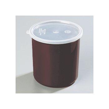 034101 - Poly-Tuf™ Crock w/Lid 1.2 qt - Brown