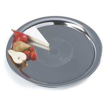 608917 - Celebration™ Round Heavyweight Tray 22""