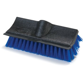 "3619014 - Flo-Pac® Dual Surface® Polypropylene Floor Scrub With Rubber Squeegee 10"" - Blue"