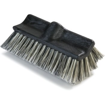 3649700 - Flo-Pac® Flo-Thru Dual Surface Brush with Flagged Polystyrene Bristles 10""