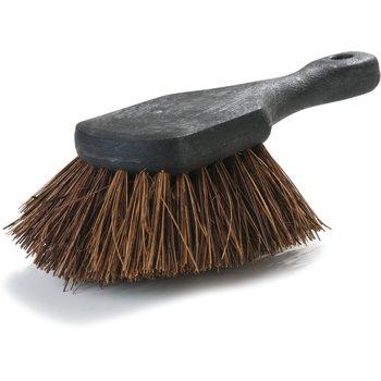 "3651300 - Sparta® Utility Scrub Brush With Stiff Palmyra Bristles 8-1/2"" x 3"" - palmyra bristle"