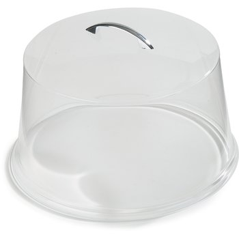 "SC3207 - Cake Cover 11-7/8"" / 6"" - Clear"