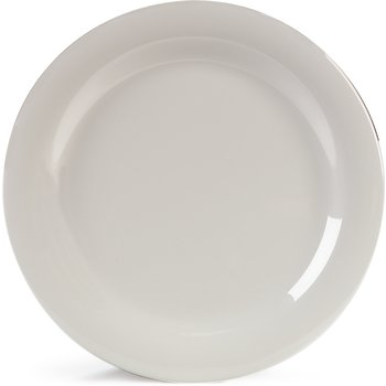 "4300242 - Durus® Melamine Dinner Plate Narrow Rim 10.5"" - Bone"
