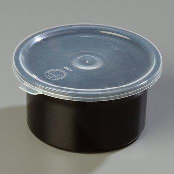 030003 - Classic™ Crock w/Lid 0.6 qt - Black