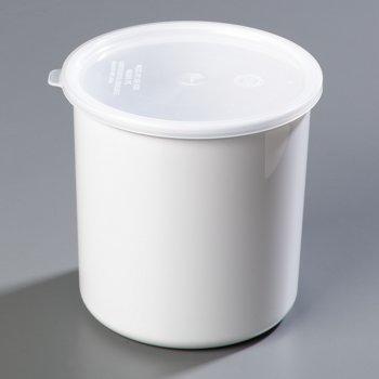 030202 - Classic™ Crock w/Lid 2.7 qt - White