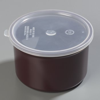 031601 - Classic™ Crock w/Lid 1.5 qt - Brown