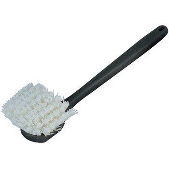 """36125002 - Utility Vehicle Wash Brush With Soft Polystyrene Bristles 20"""" - White"""