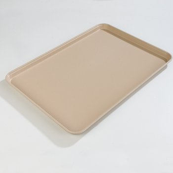 "2216FG095 - Glasteel™ Solid Rectangular Tray 22-1/8"" x 16"" - Almond"