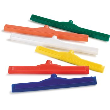 Double Foam Rubber Squeegee with Plastic Frame