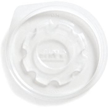 DX40008700 - The Heritage Collection® Clear-view Flat Lid (2000/cs) - Clear