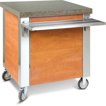 "DXDST3 - Dinexpress® Solid Top Counter 49""L x 30""D - Stainless Steel"